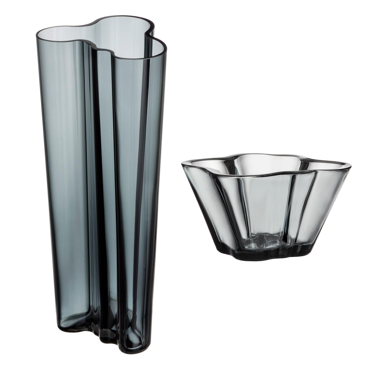 offer set aalto vase finlandia 255 mm aalto bowl 75 mm by iittala in - Aalto Vase