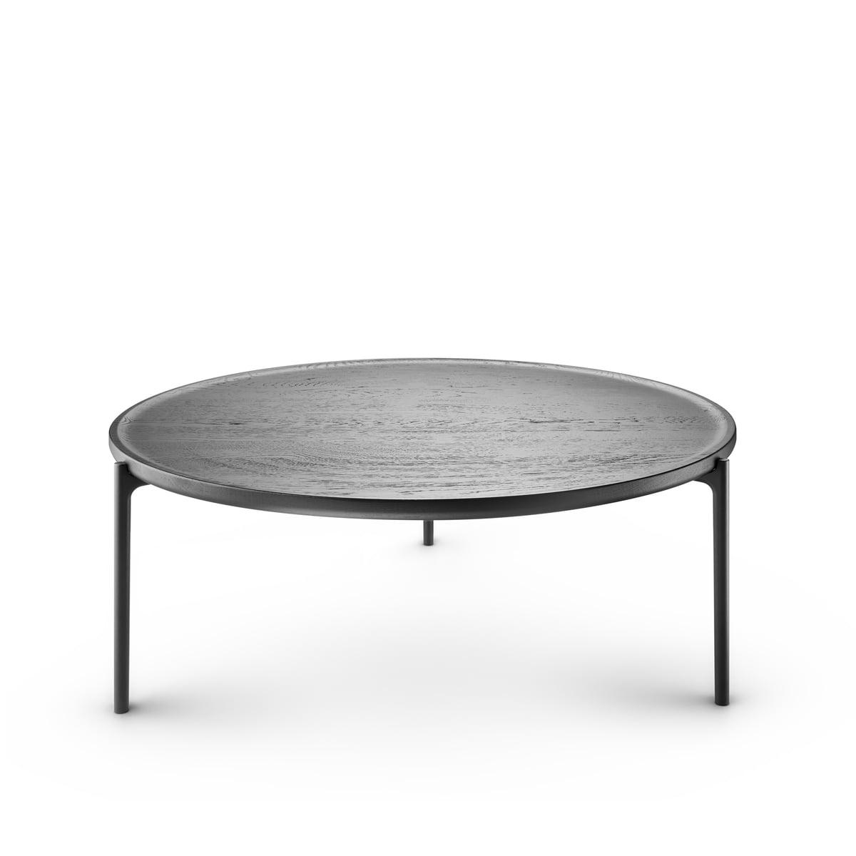 Eva Solo Savoye Coffee Table ø 60 Cm Oak Natural Black