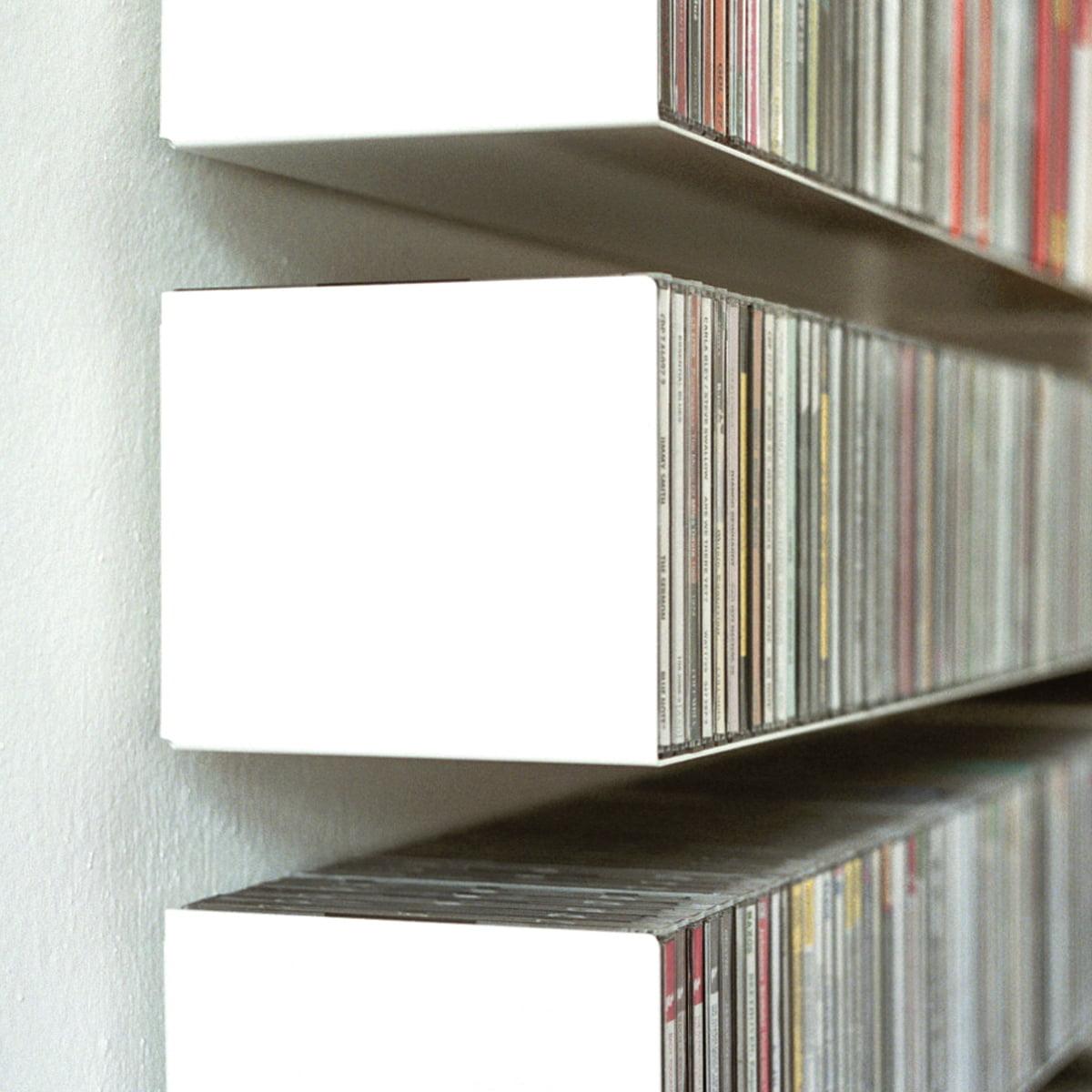 linea1 b cd shelf in the shop rh connox co uk cd wall shelving cd wall shelving