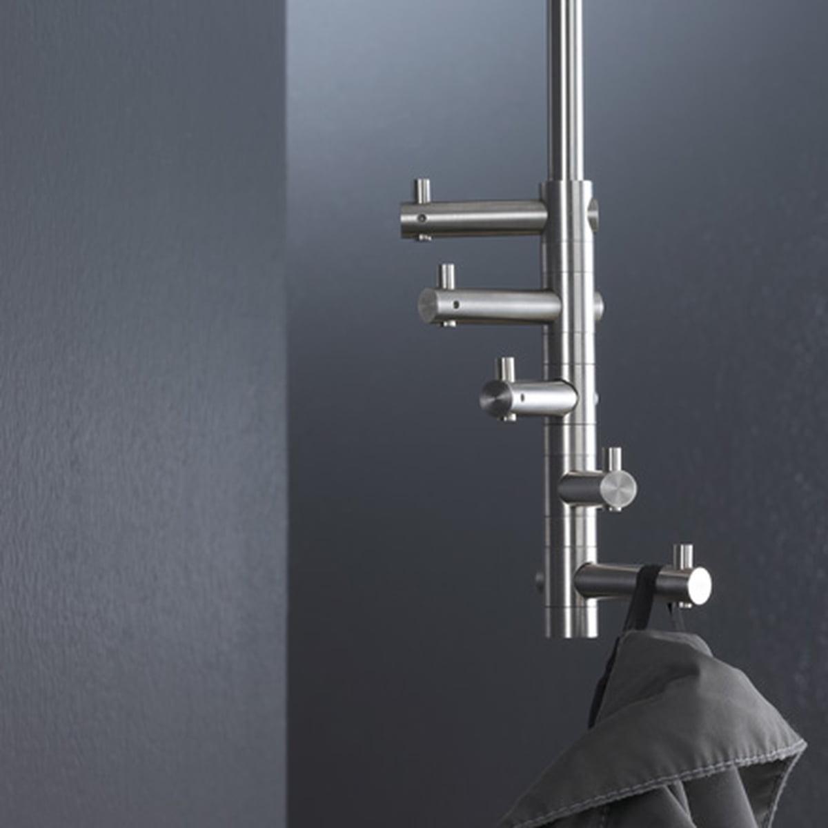 Hanging coat rack take five phos shop for Garderobe 60