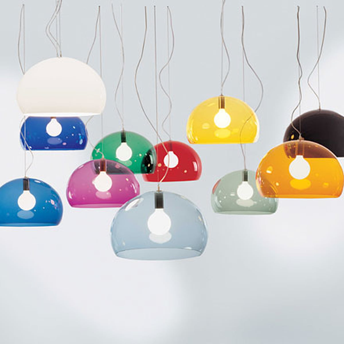 Fl Y Pendant Lamp By Kartell In The Shop