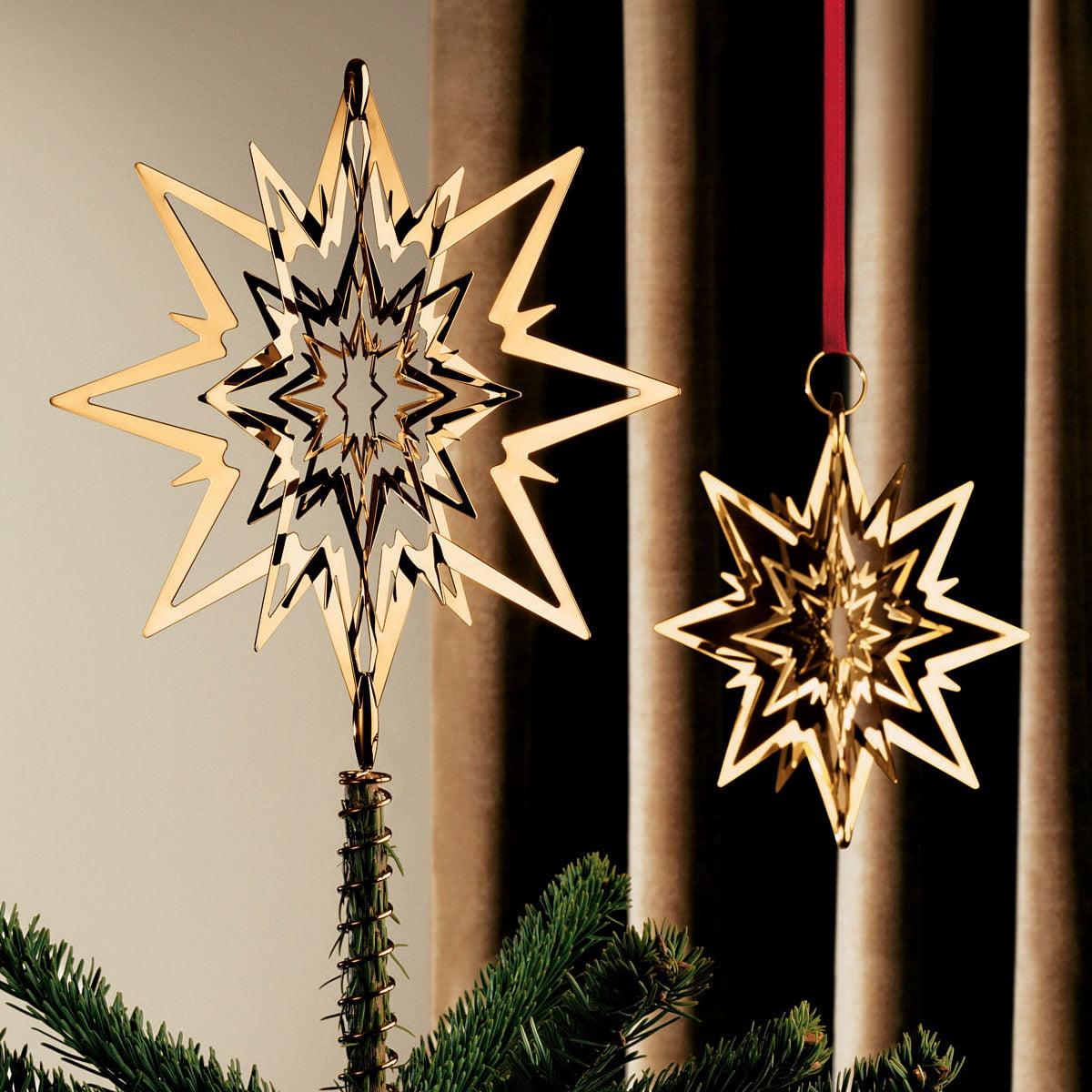 christmas tree top star georg jensen shop. Black Bedroom Furniture Sets. Home Design Ideas