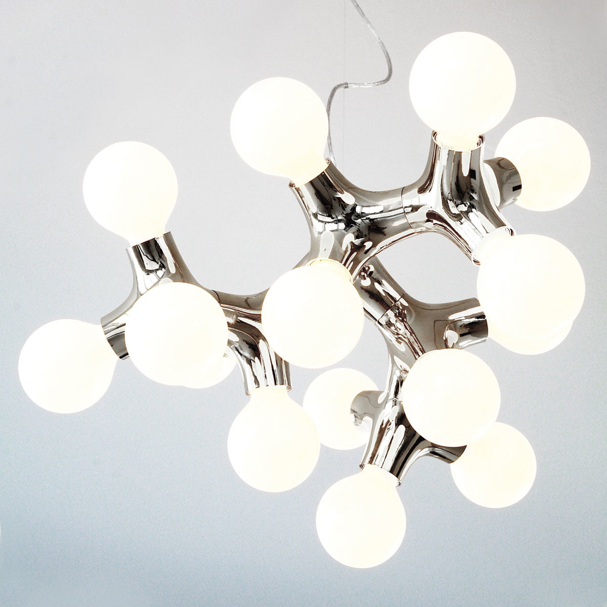 Dna pendant lamp by hopf wortmann for next next dna pendant lamp chandelier chrome aloadofball Image collections