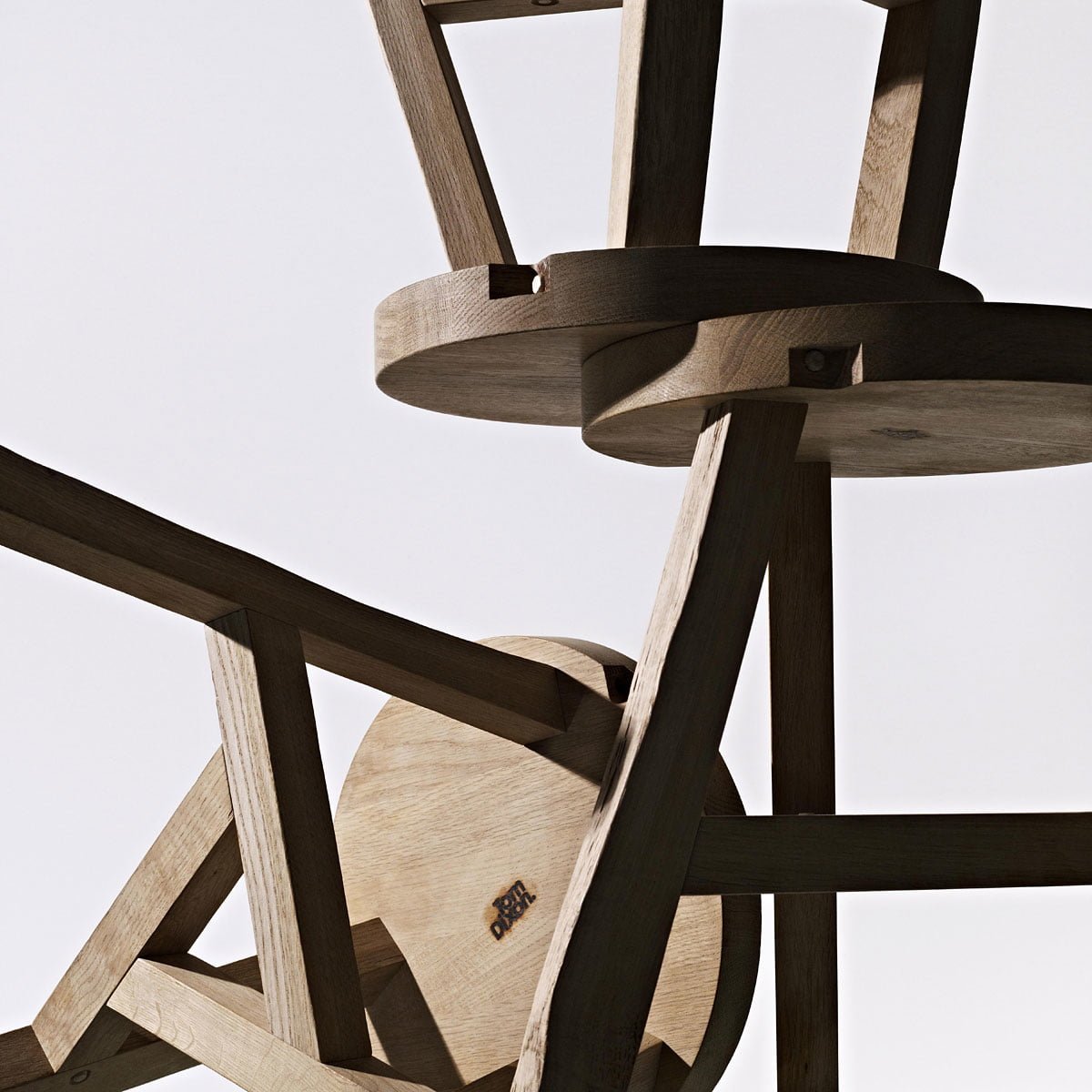 Offcut Stool Tom Dixon Shop