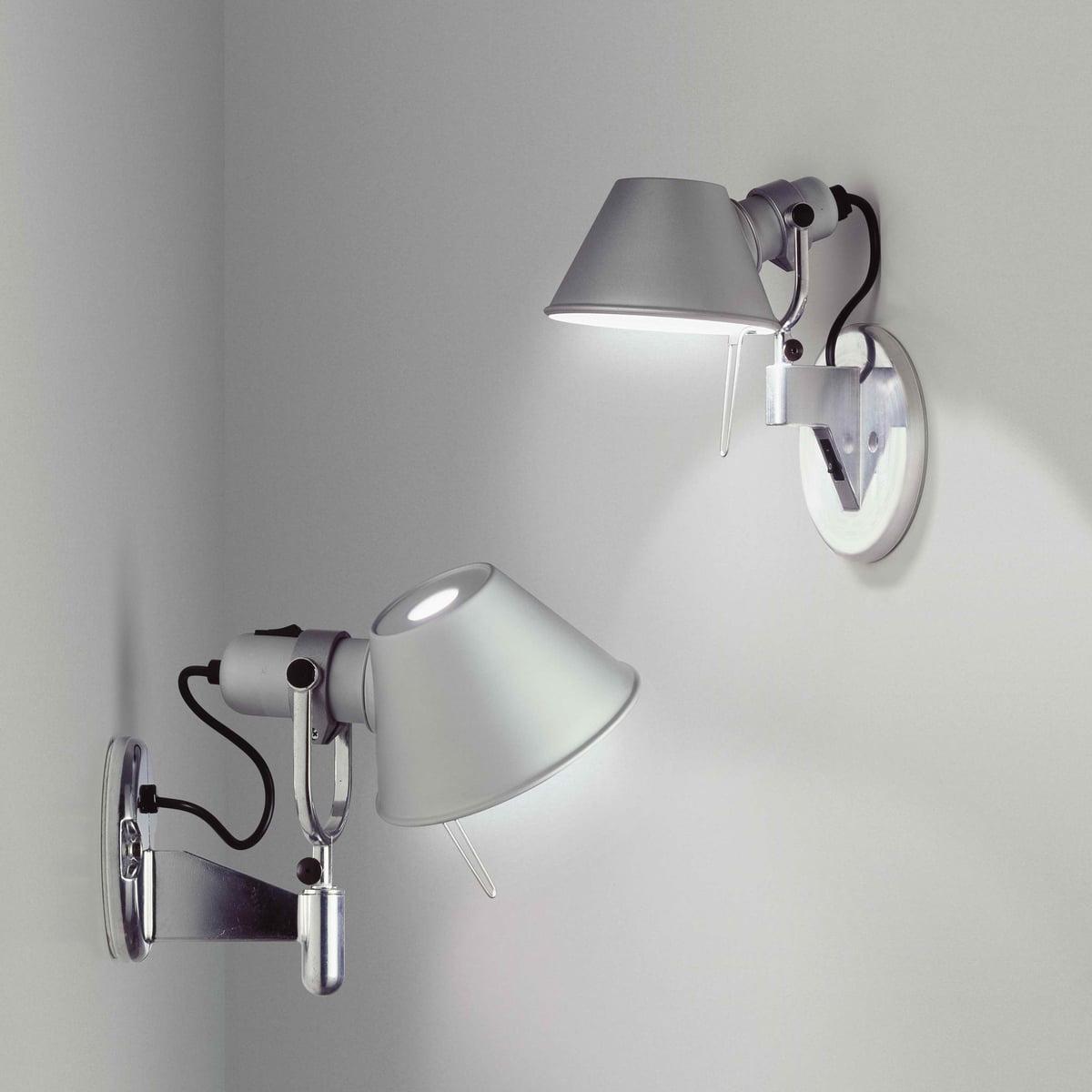 huge selection of f7bd3 ed6e4 Artemide - Tolomeo - Faretto wall lamp, aluminium silver