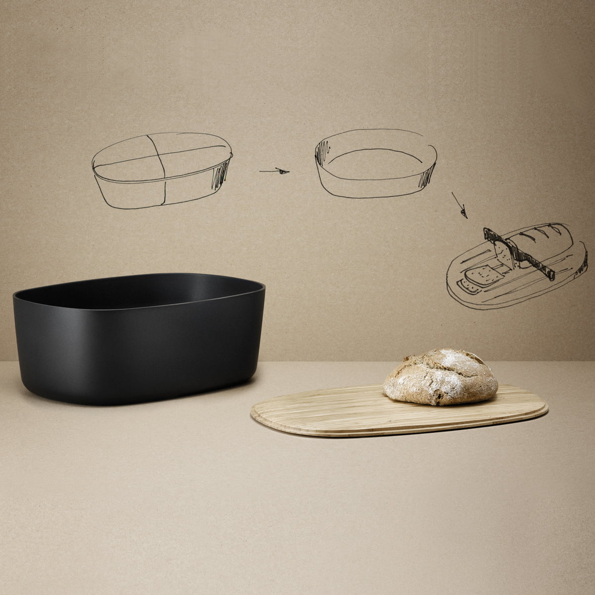 bread box from rig tig by stelton in the shop. Black Bedroom Furniture Sets. Home Design Ideas