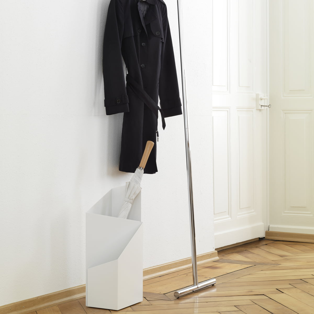 Umbrella Stand Hobby Lobby: Snap Leaning Coat Rack By Mox In The Shop