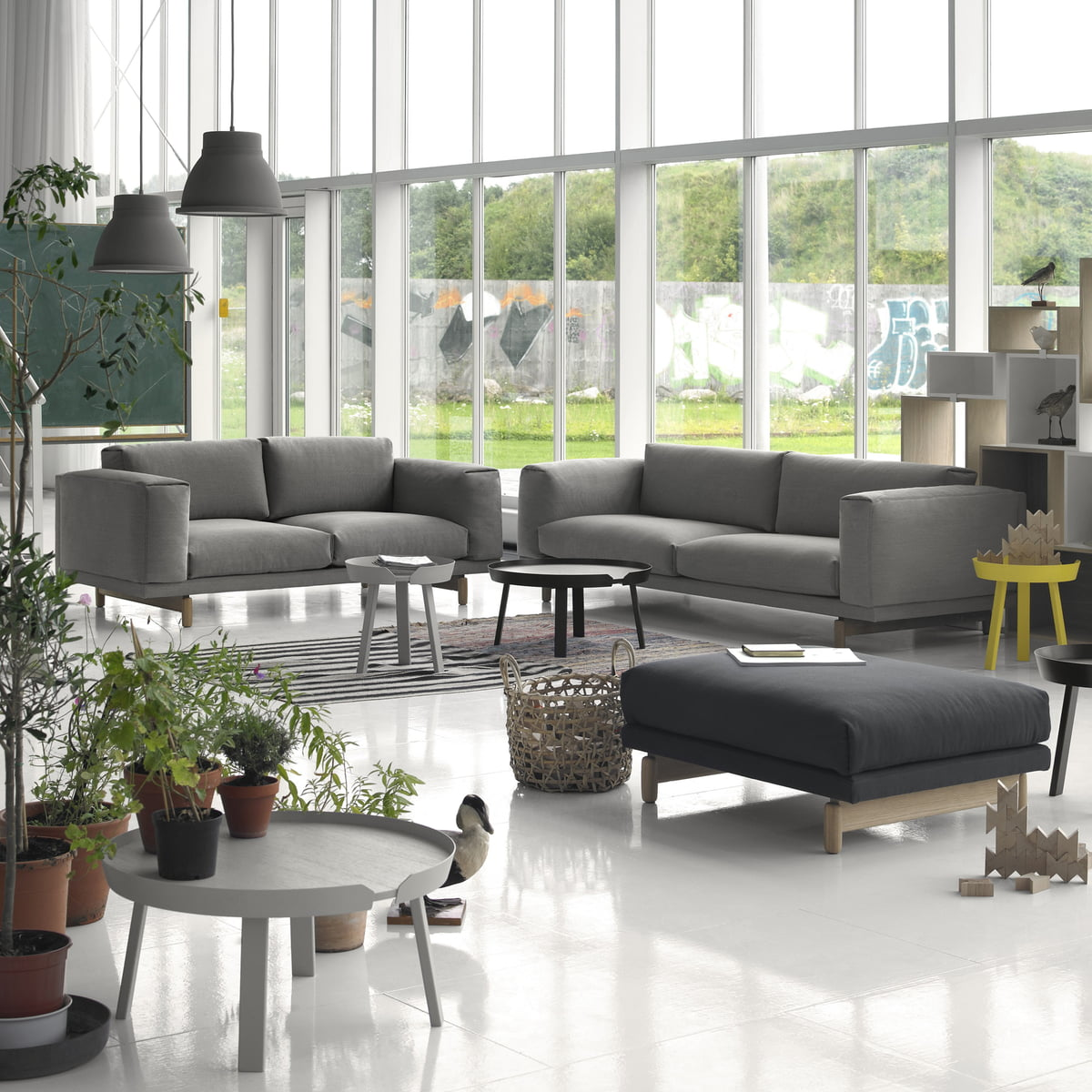 Rest Sofa 2-seater by Muuto | Connox Shop