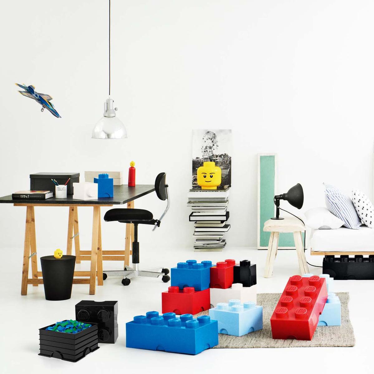 storage brick 1 by lego in the home design shop. Black Bedroom Furniture Sets. Home Design Ideas