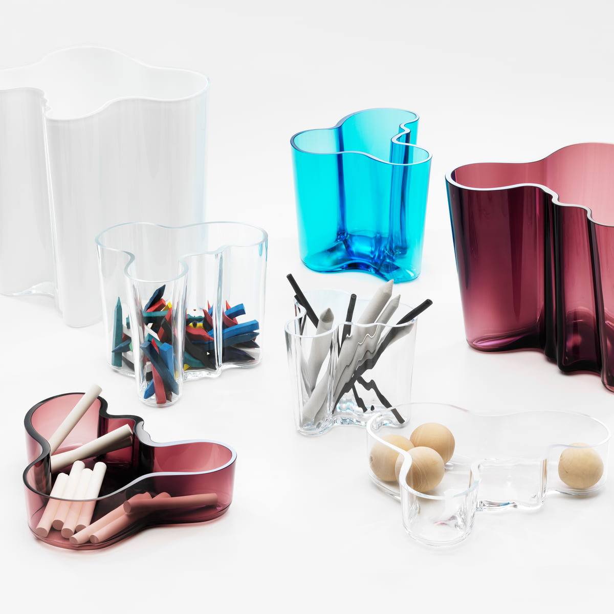 Alvar aalto bowl by iittala in the shop iittala aalto group glass vases and bowls reviewsmspy