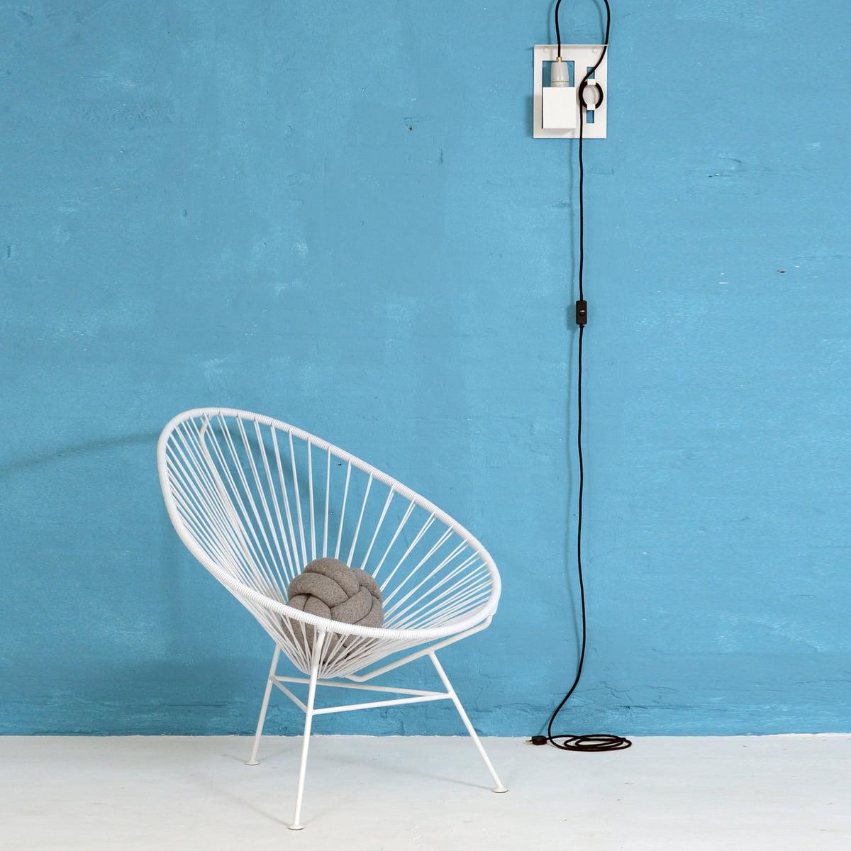OK Design   The Acapulco Chair, White
