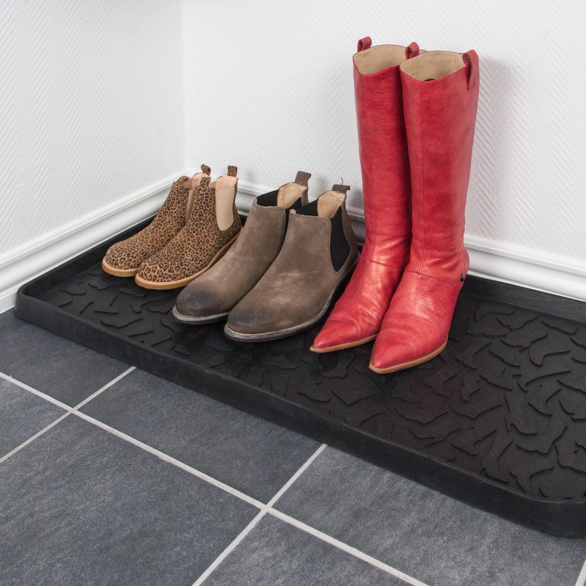 shoe and boot tray 88 x 38 cm by tica copenhagen