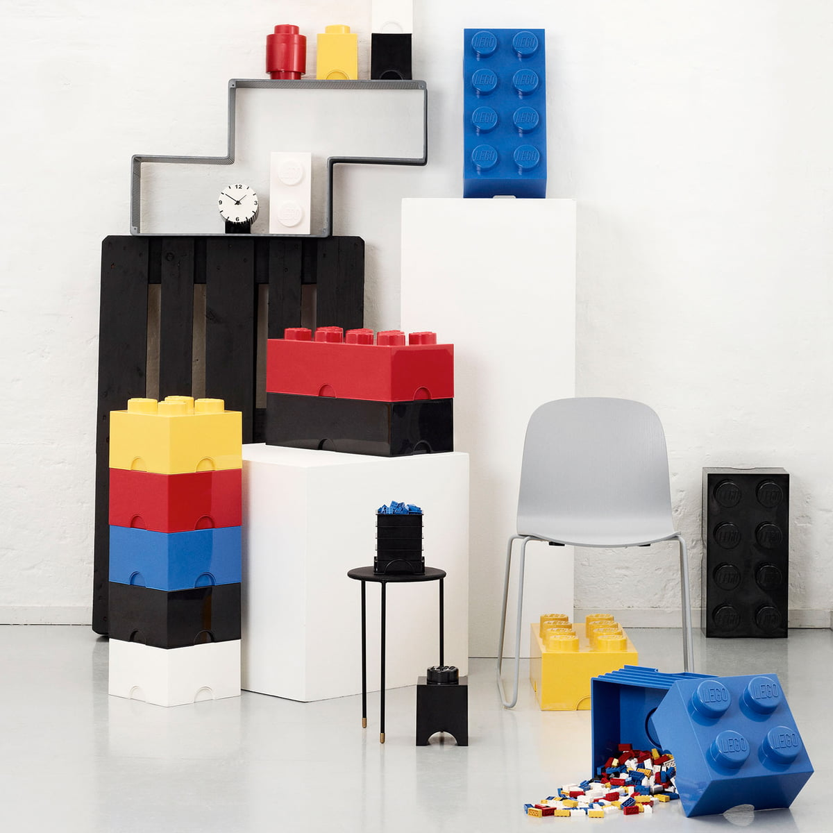 Storage brick 8 by lego in the home design shop for Interior design in a box