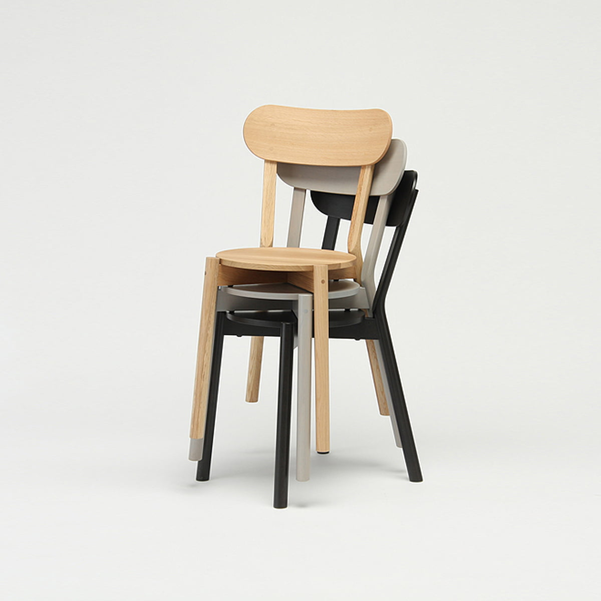 The karimoku new standard castor chair
