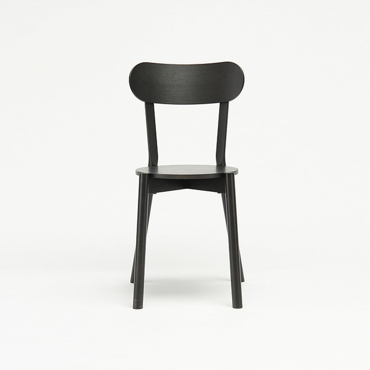 The karimoku new standard castor chair in black