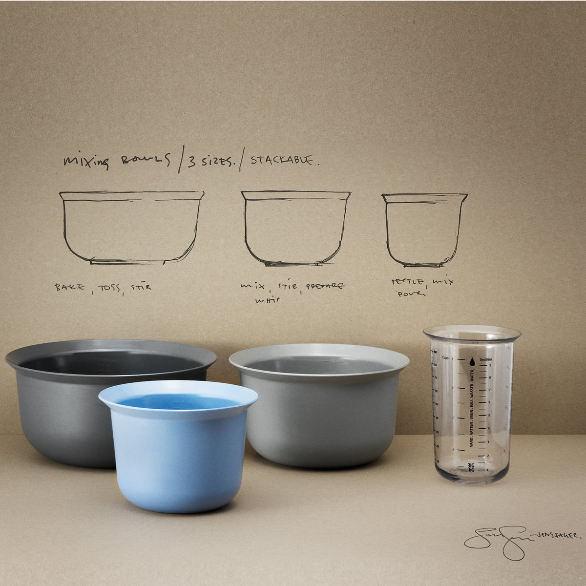mixing bowls by rig tig in the design shop. Black Bedroom Furniture Sets. Home Design Ideas