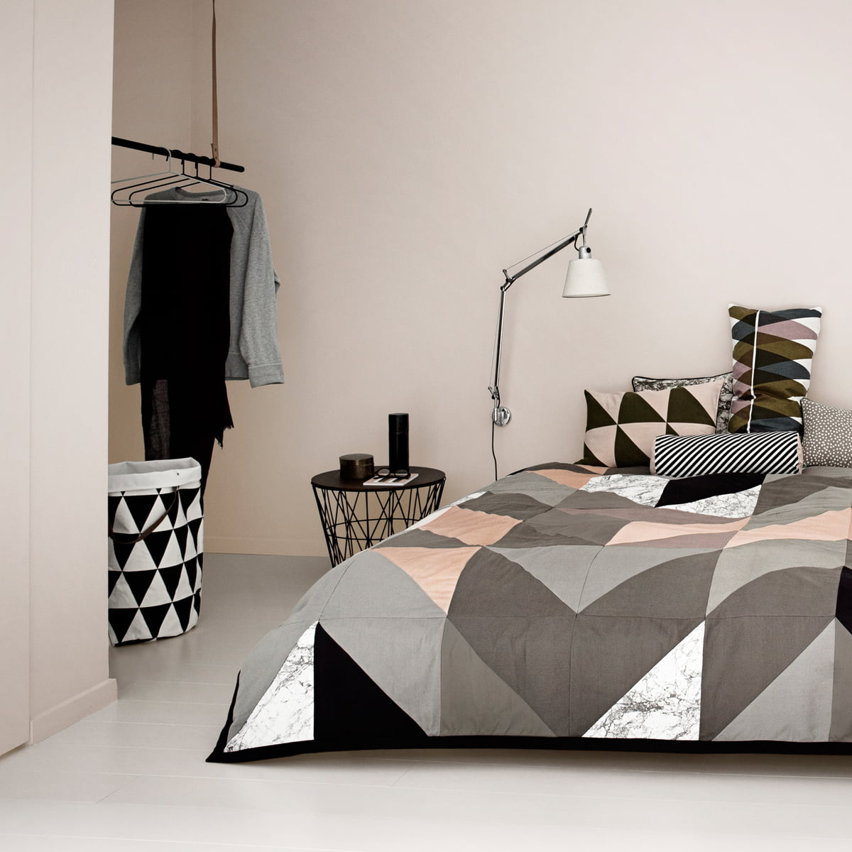 Ferm Living for the bedroomThe Wire Basket from ferm Living in the shop. Ferm Living Basket Uk. Home Design Ideas