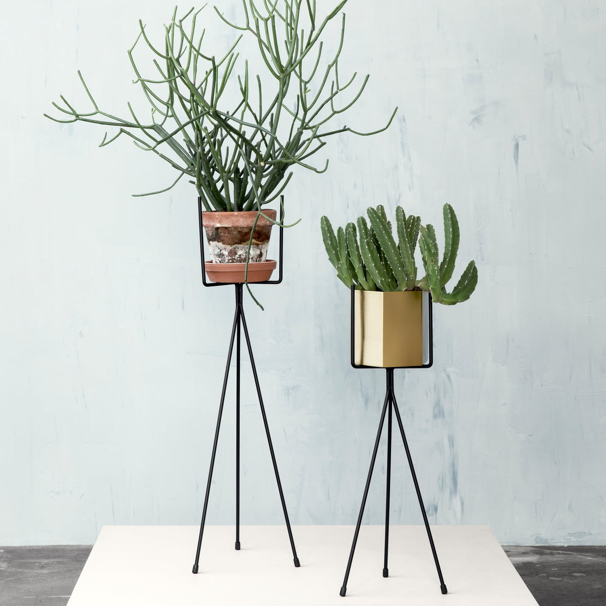 Plant stand by ferm living in the shop for Herb stand ideas