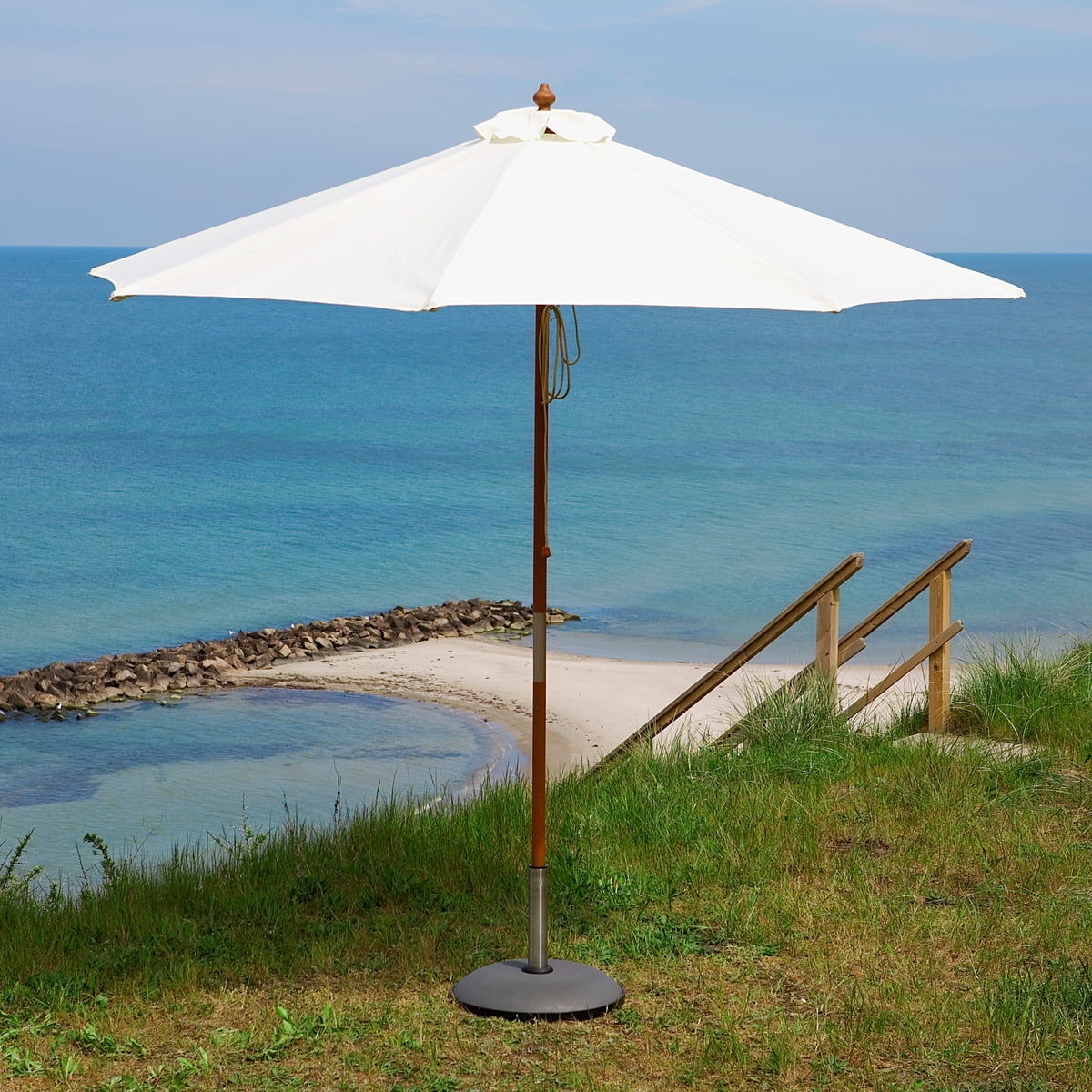 skagerak catania parasol in the design shop. Black Bedroom Furniture Sets. Home Design Ideas