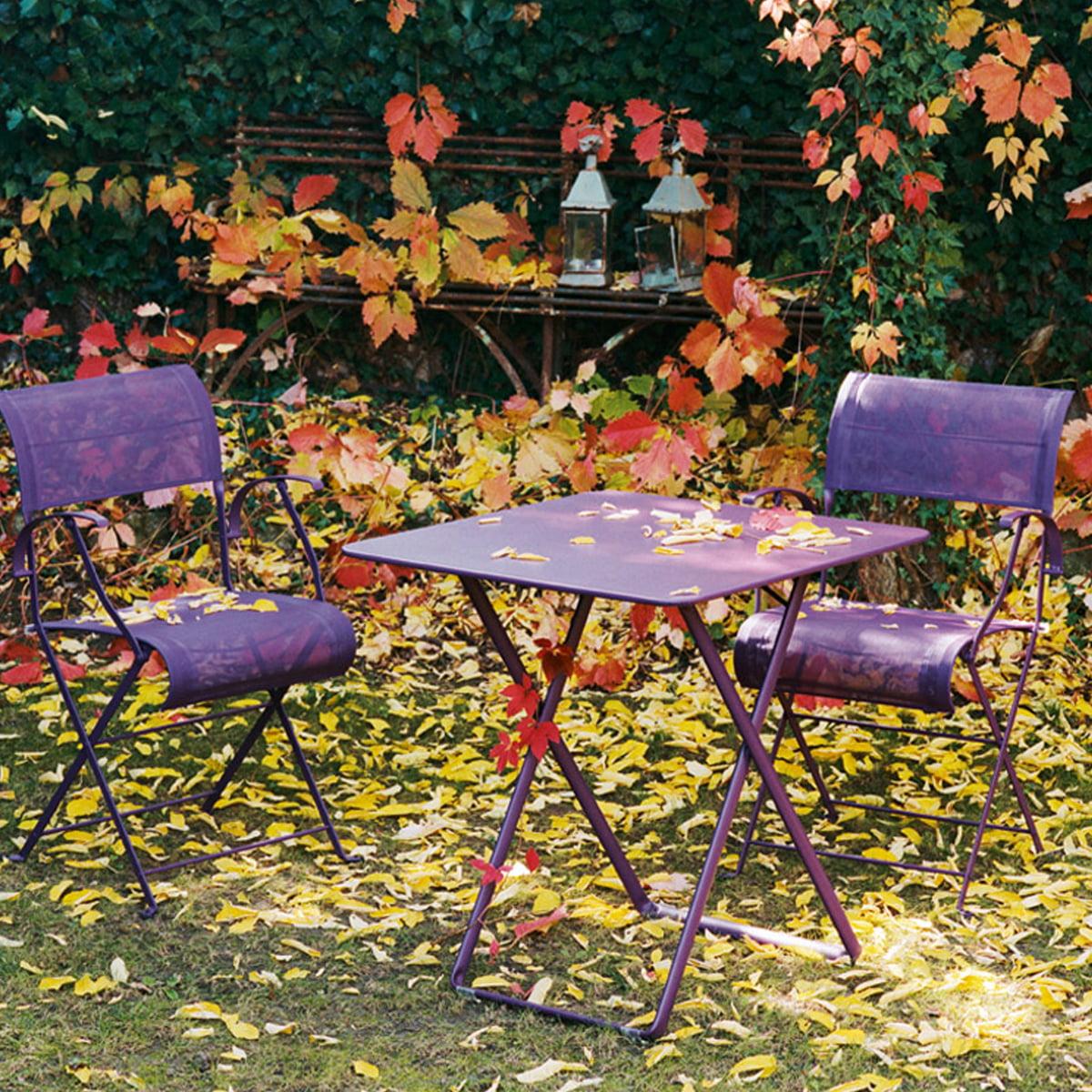 Bistro Folding Table 71 x 71 cm by Fermob   Connox