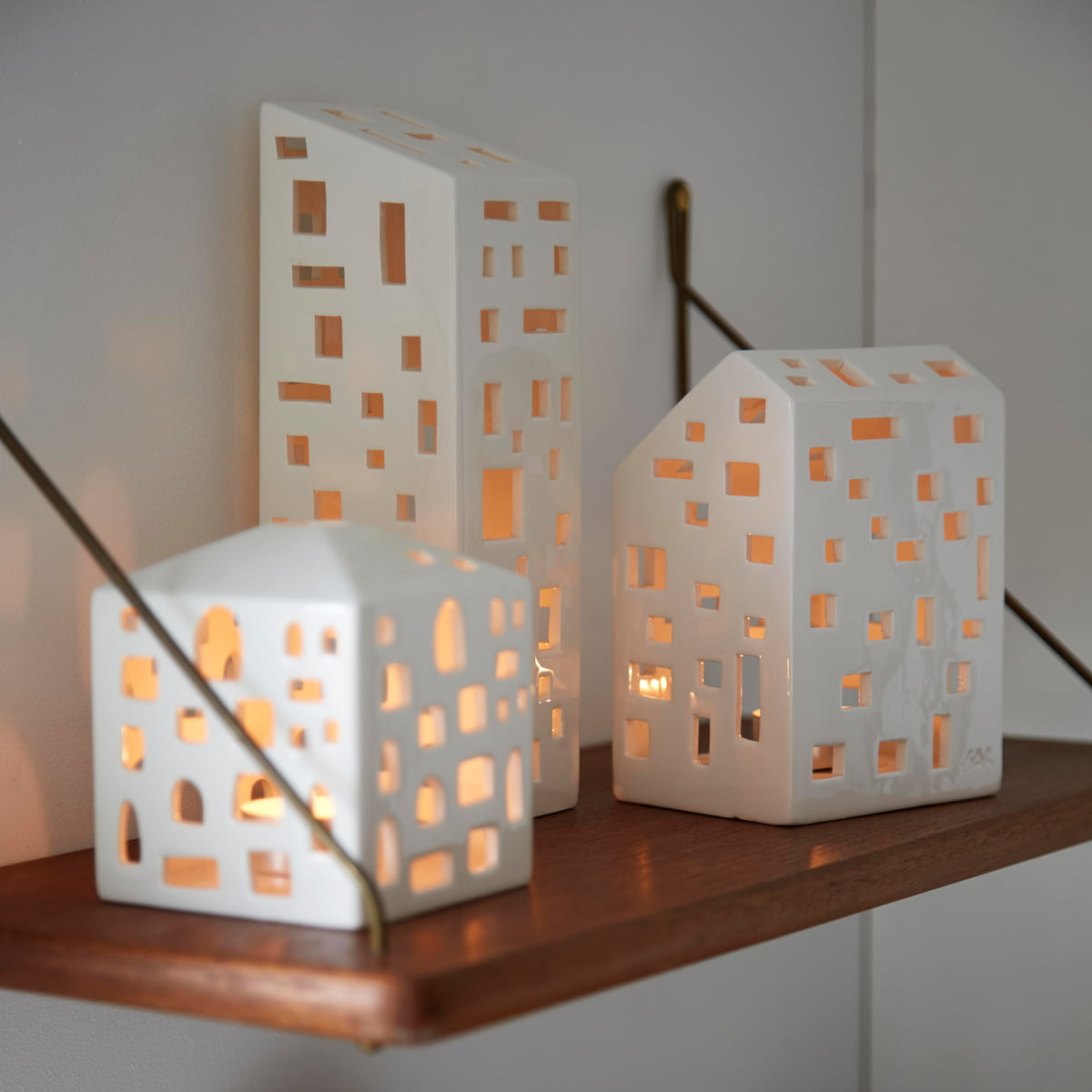 Candlelight Apartments: Urbania Votive Candle House By Kähler Design In The Shop
