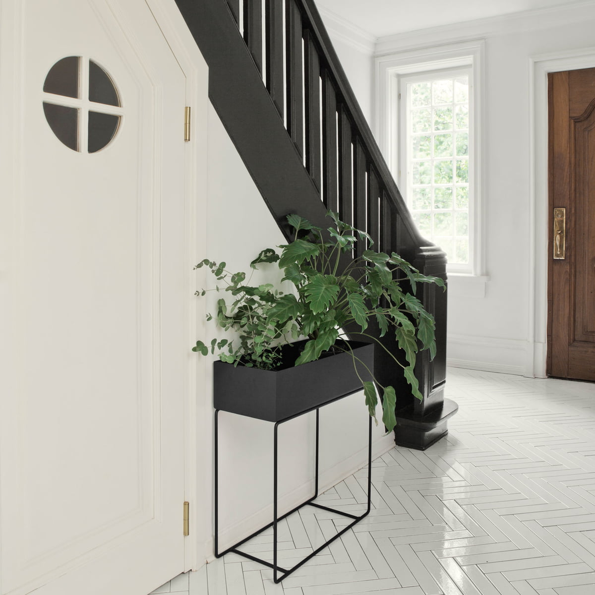 plant box by ferm living in black. plant box by ferm living in the shop