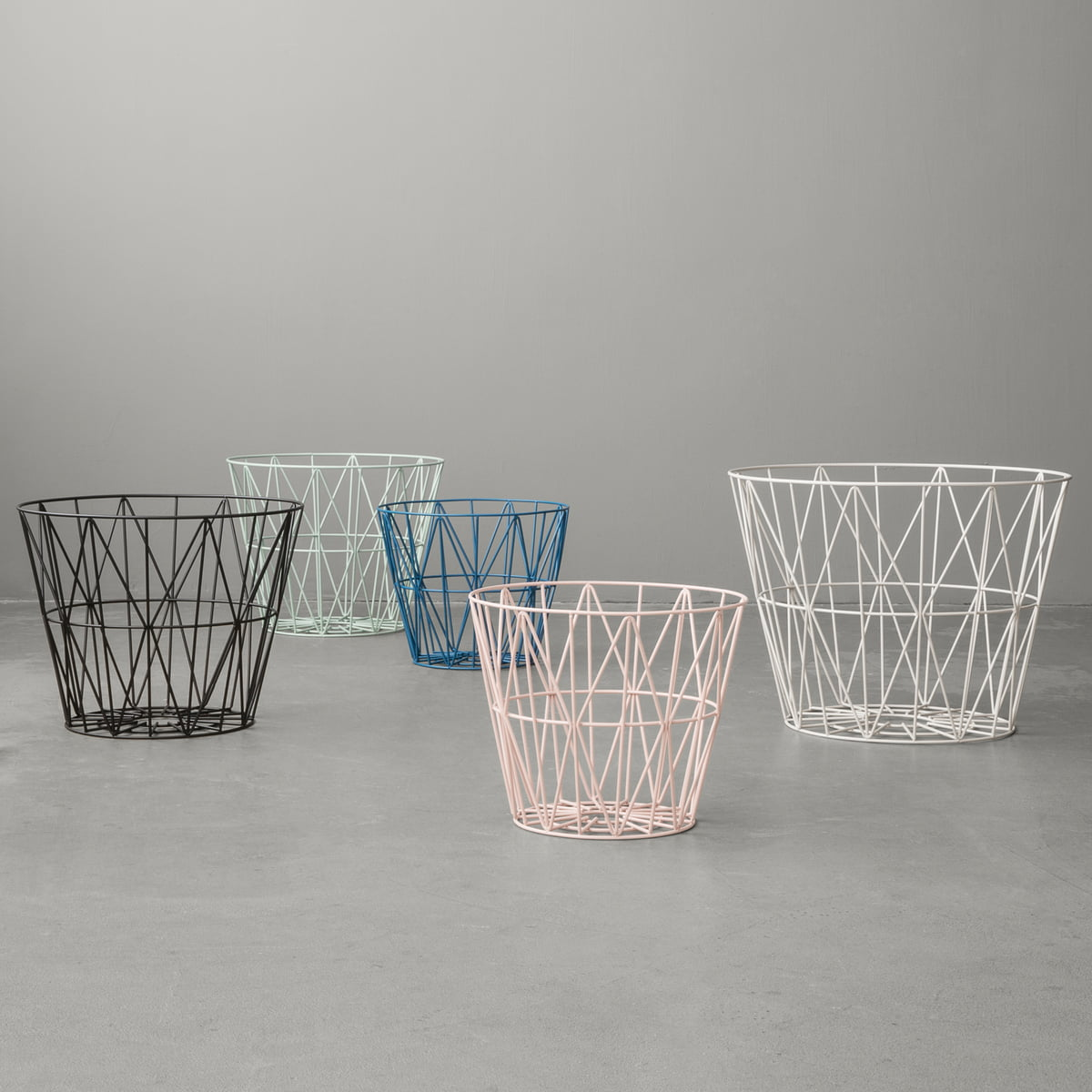 The wire basket from ferm living in the shop wire basket by ferm living greentooth Images