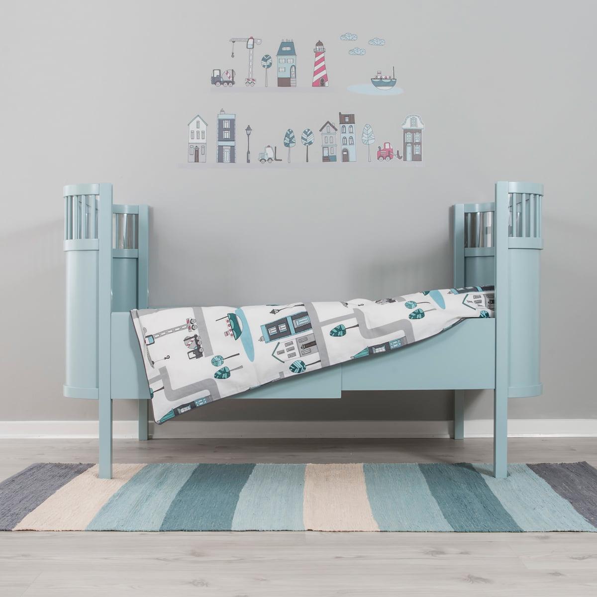 baby bed linen village by sebra at the shop. Black Bedroom Furniture Sets. Home Design Ideas