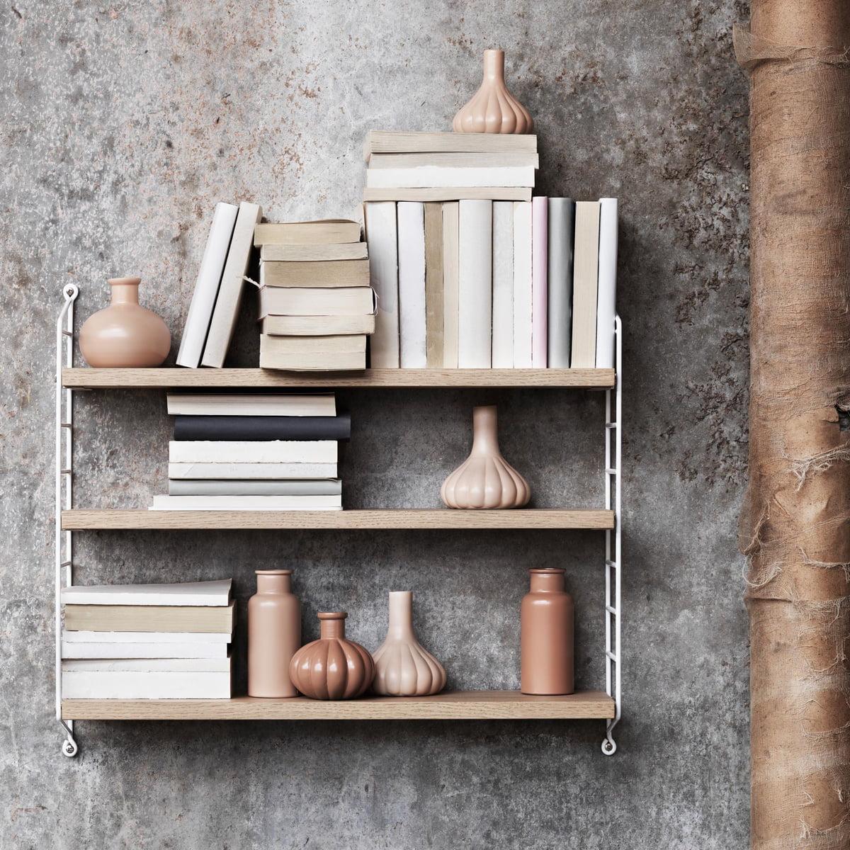 GroBartig String   Pocket Wall Shelf