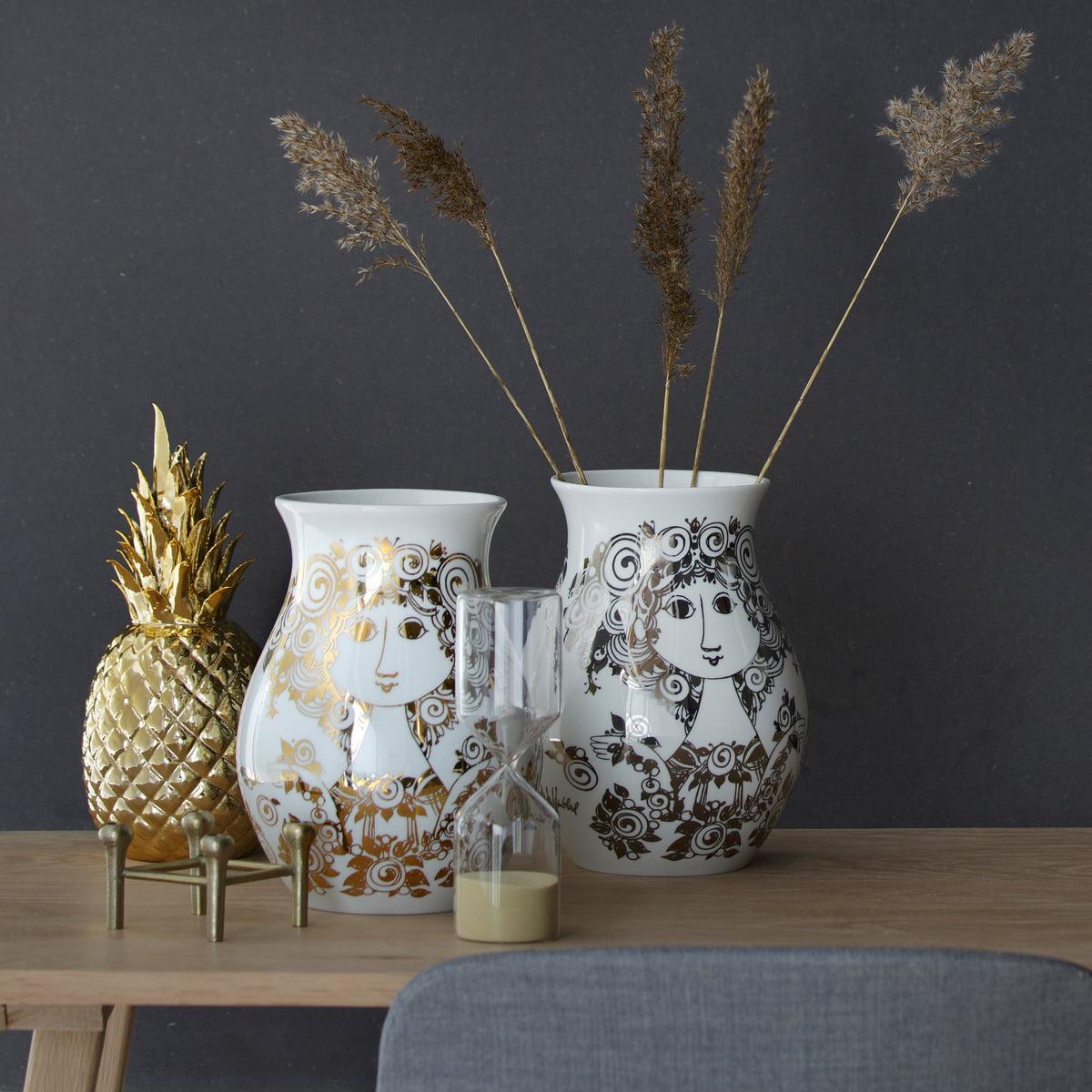 porcelain vase rosalinde by bj rn wiinblad in shop. Black Bedroom Furniture Sets. Home Design Ideas