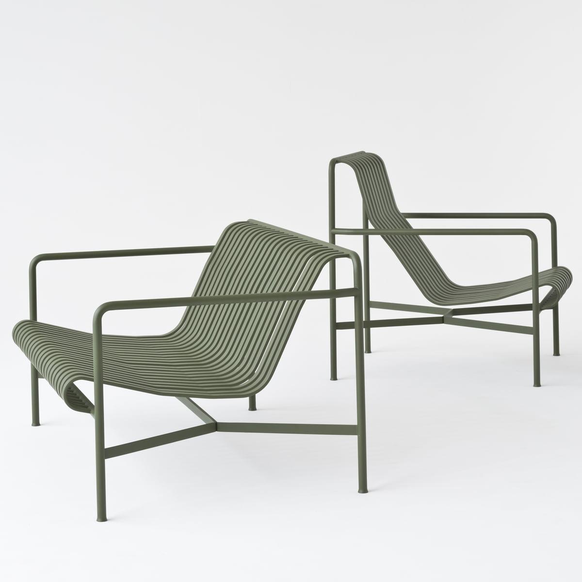 Hay Lounge Stoel.Hay Palisade Lounge Chair High Light Grey