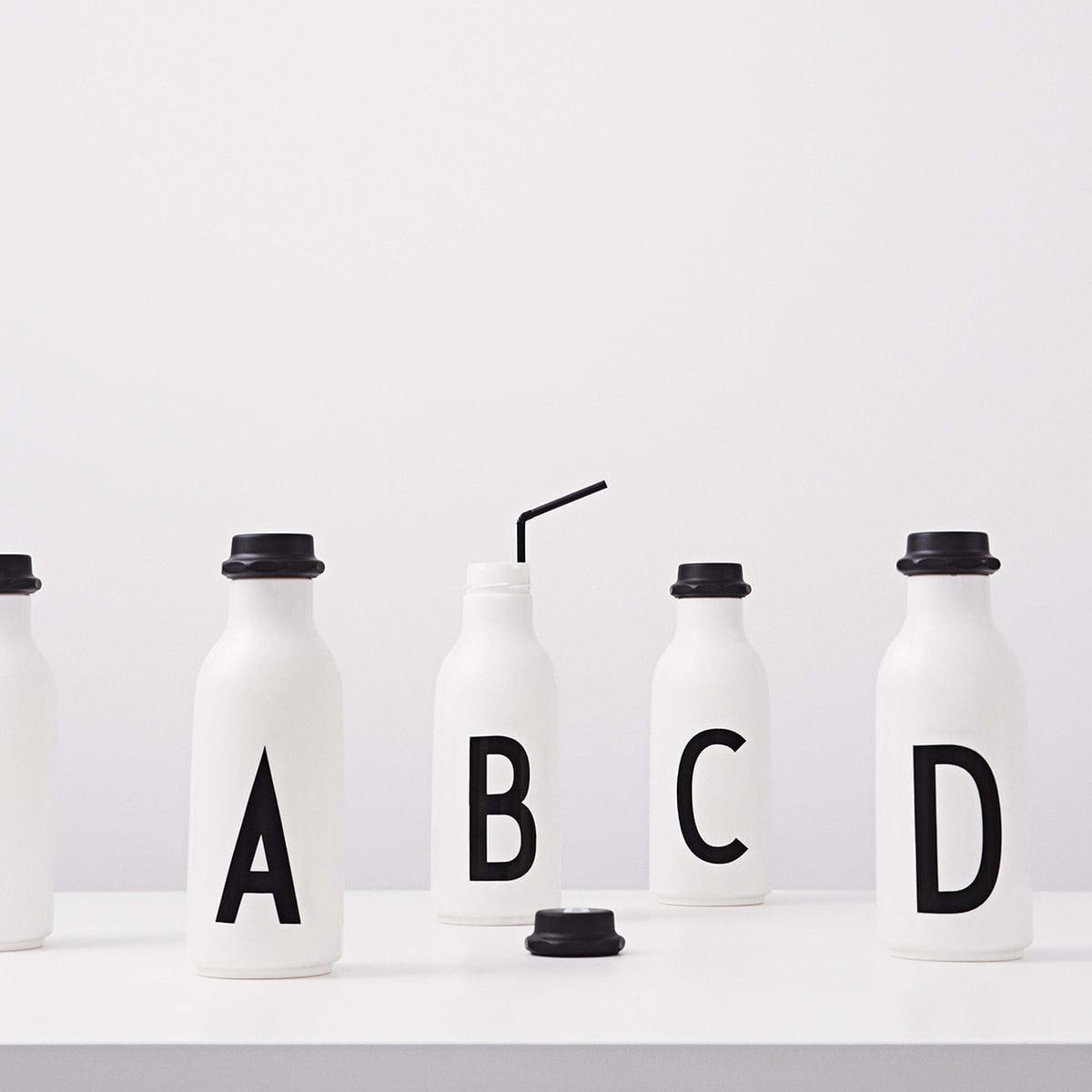 Water Bottle With AJ Alphabet