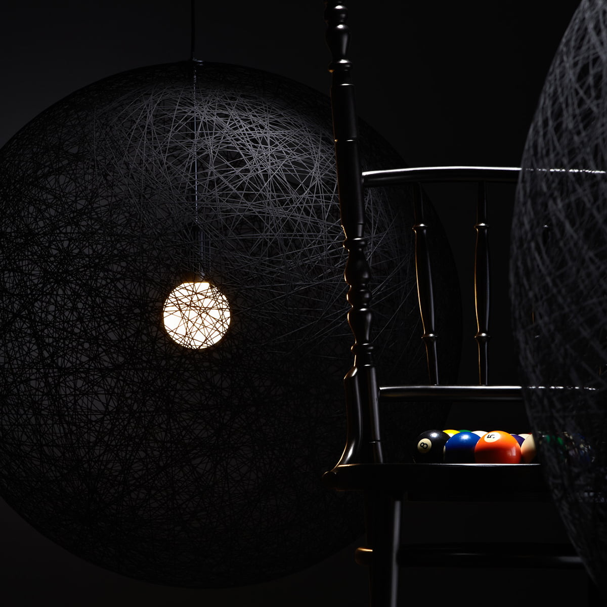 random light suspension lamp by moooi. Black Bedroom Furniture Sets. Home Design Ideas