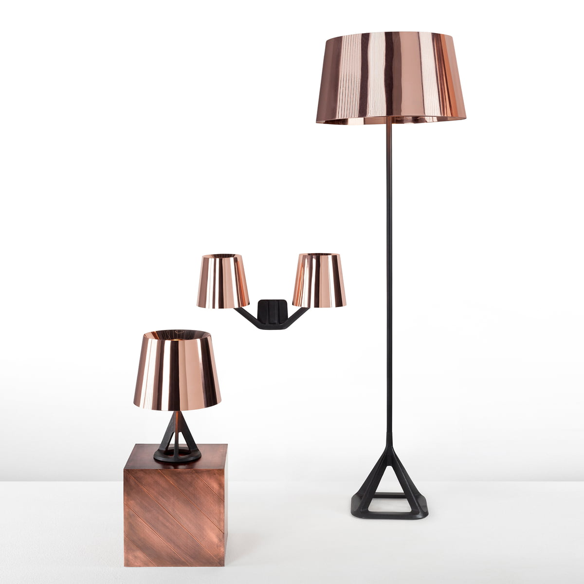 base floor lamp by tom dixon in the shop. Black Bedroom Furniture Sets. Home Design Ideas