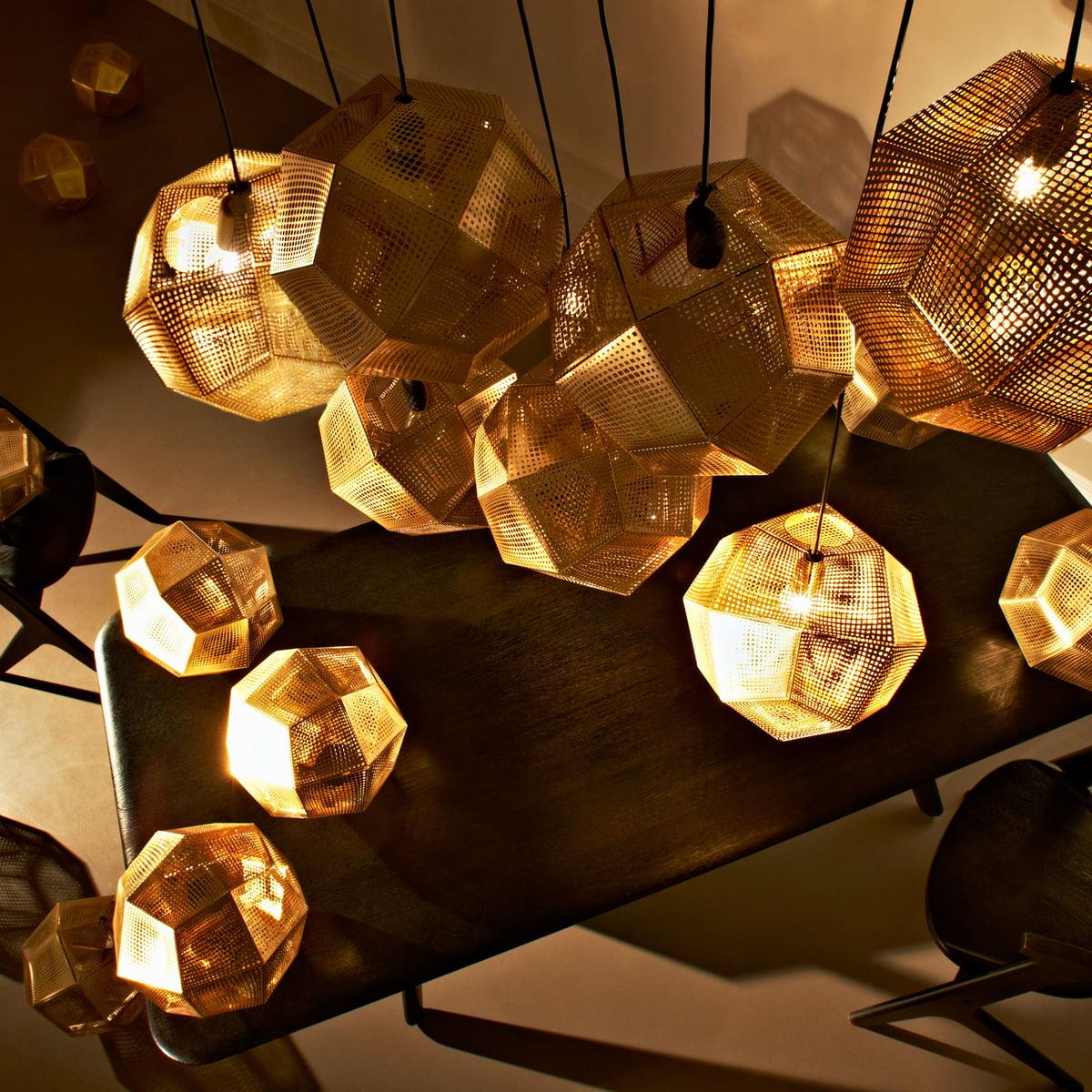 tom dixon lighting. Plain Dixon Tom Dixon  Etch Pendant Lamp Brass On Lighting