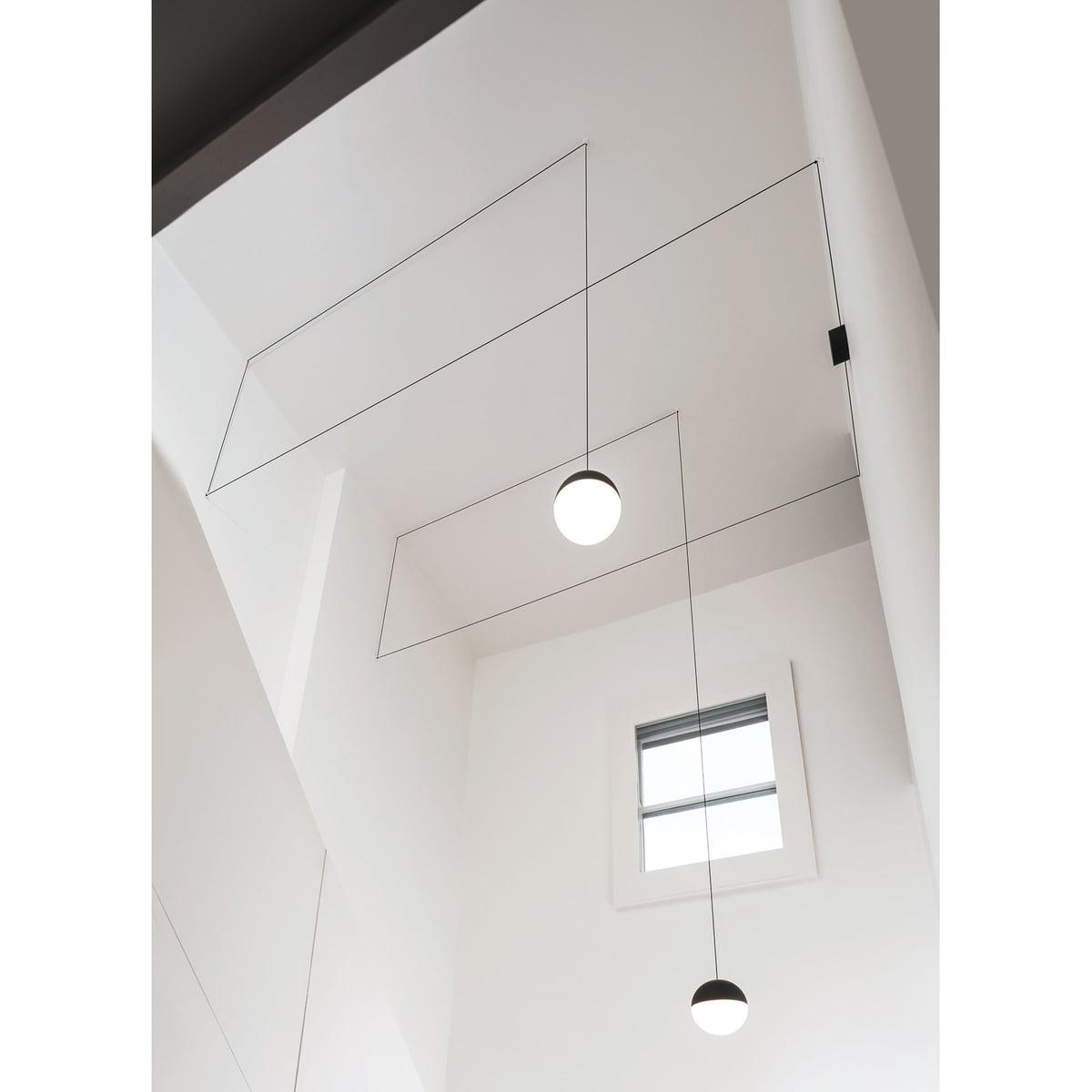 Flos string light pendant lamp spherical head flos string light pendant lamp spherical head mozeypictures Images
