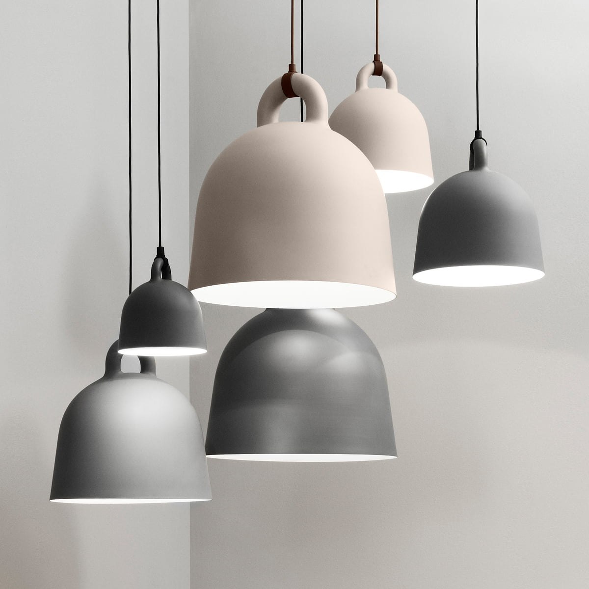 normann copenhagen bell pendant lamp. Black Bedroom Furniture Sets. Home Design Ideas