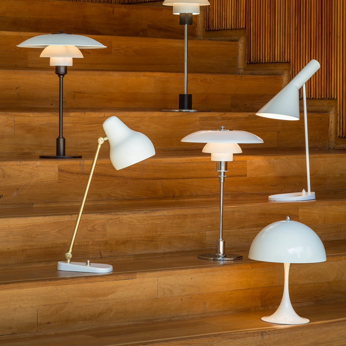 Panthella mini table lamp by louis poulsen white design table lamps by louis poulsen aloadofball Choice Image