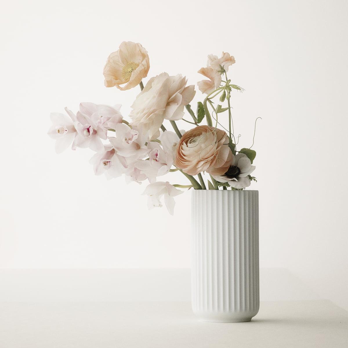 Lyngby vase in white matt in the shop online lyngby porceln lyngby vase white matte reviewsmspy