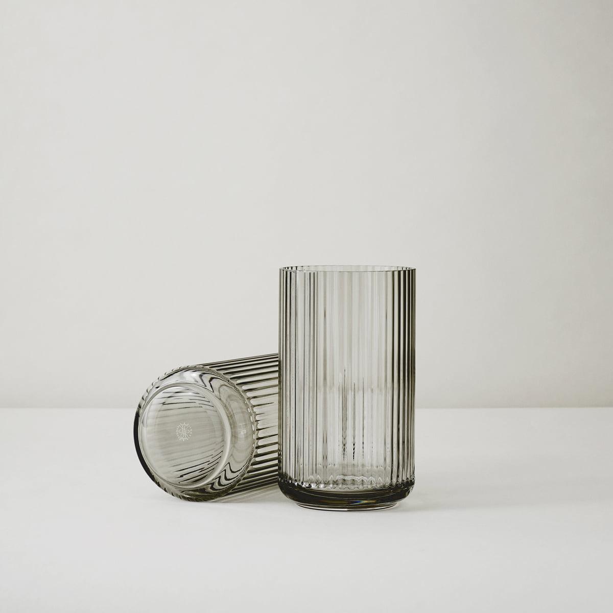 Enormt Lyngby Porcelæn Glass Vase smoke in the shop KA91