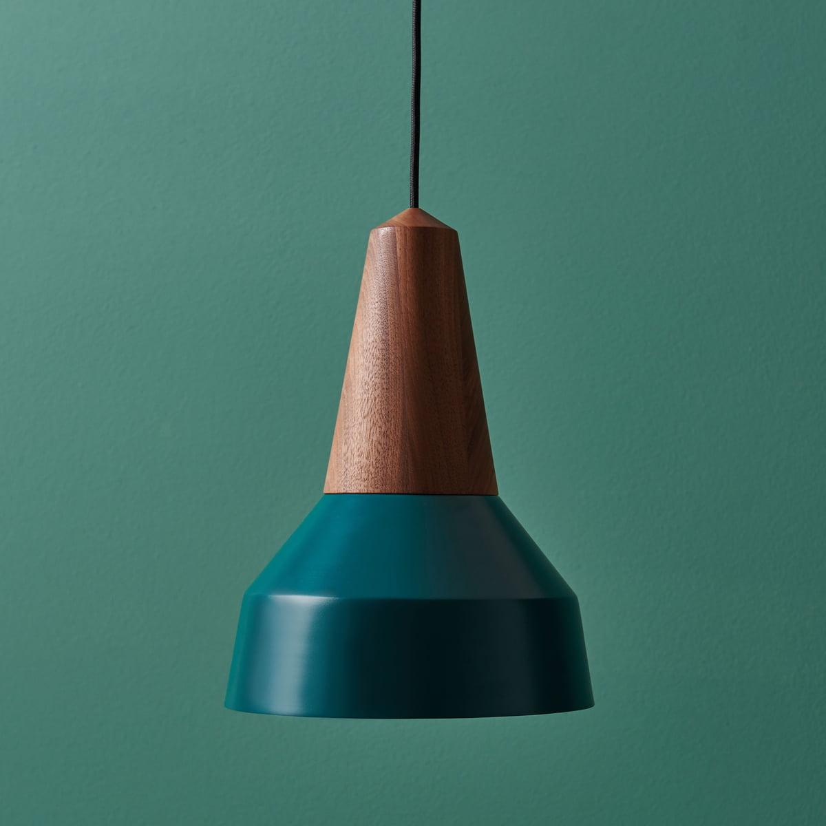 Eikon basic pendant lamp by schneid online the schneid eikon basic pendant lamp in walnut green aloadofball Choice Image