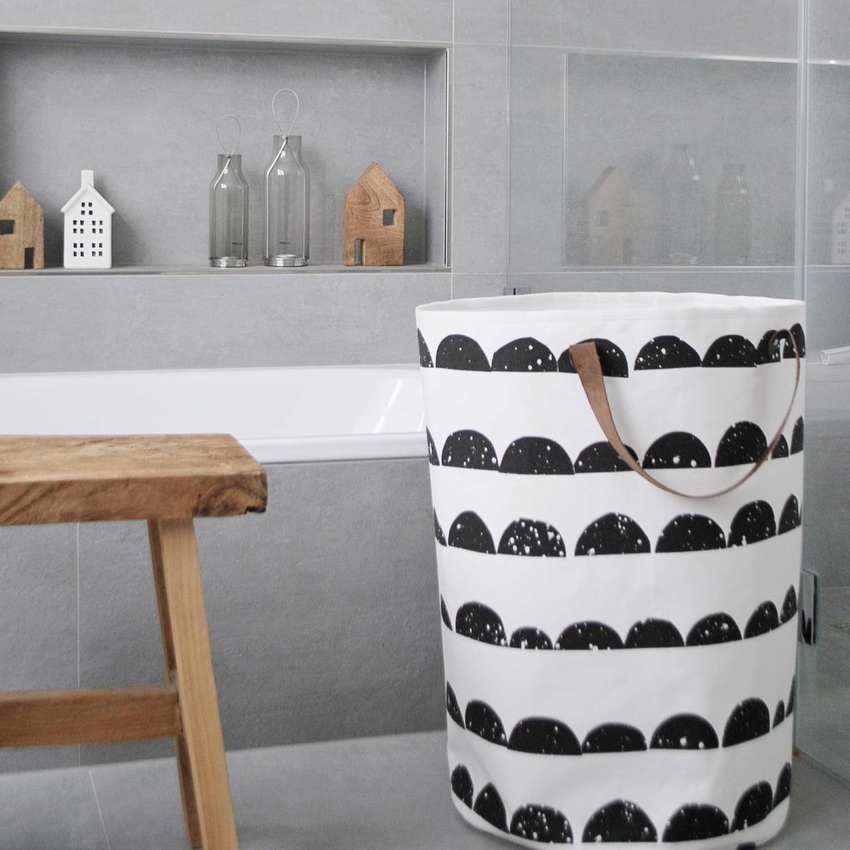 Superb Half Moon Laundry Basket By Ferm Living Great Ideas