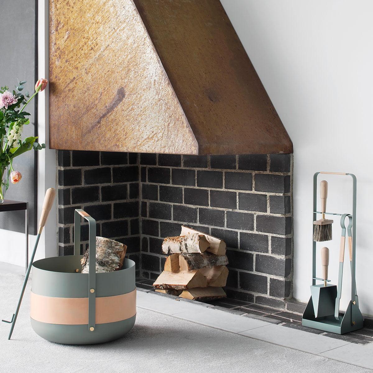 fireplace tools set emma by eldvarm in the shop. Black Bedroom Furniture Sets. Home Design Ideas