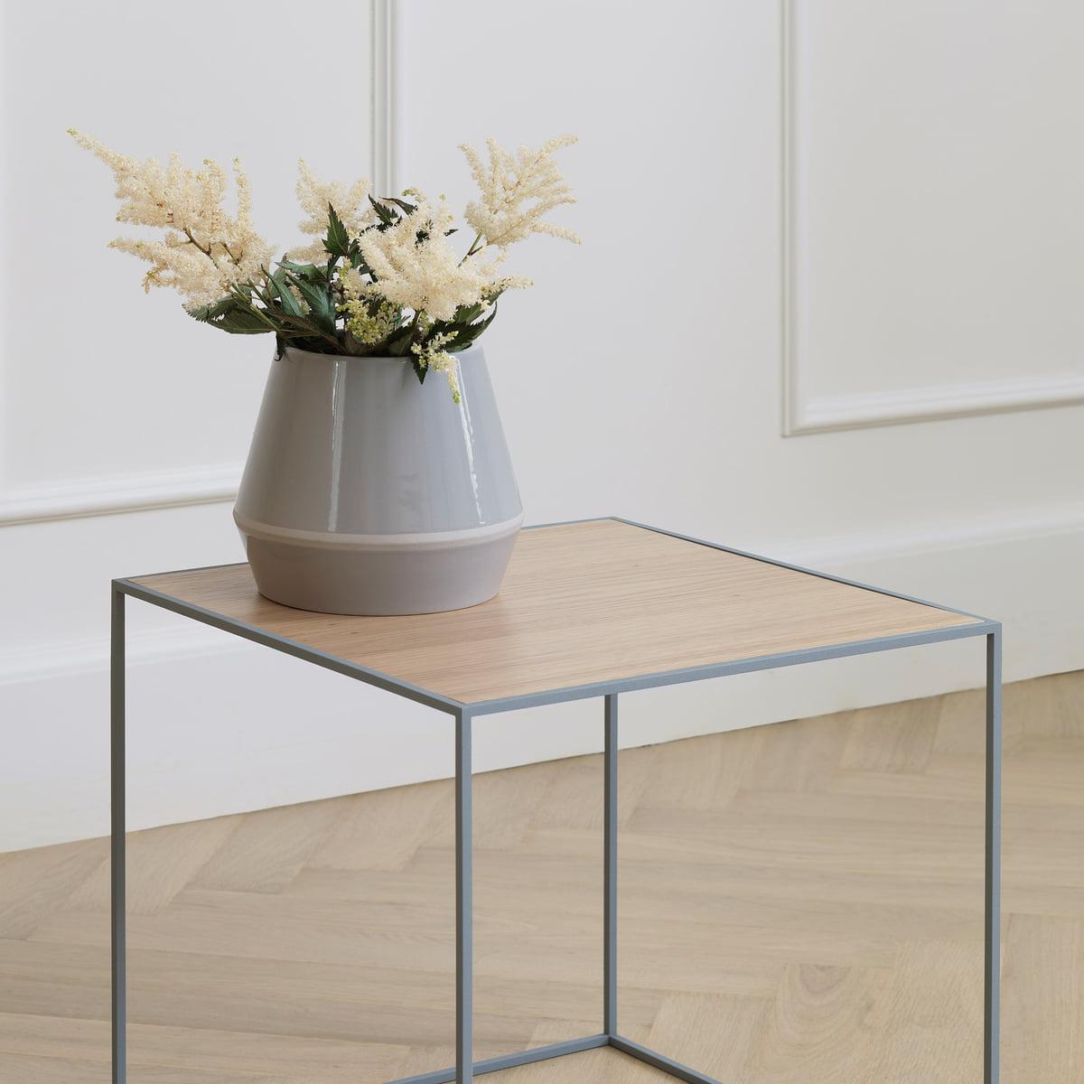 Rimm Vase + Twin Side Table By Lassen