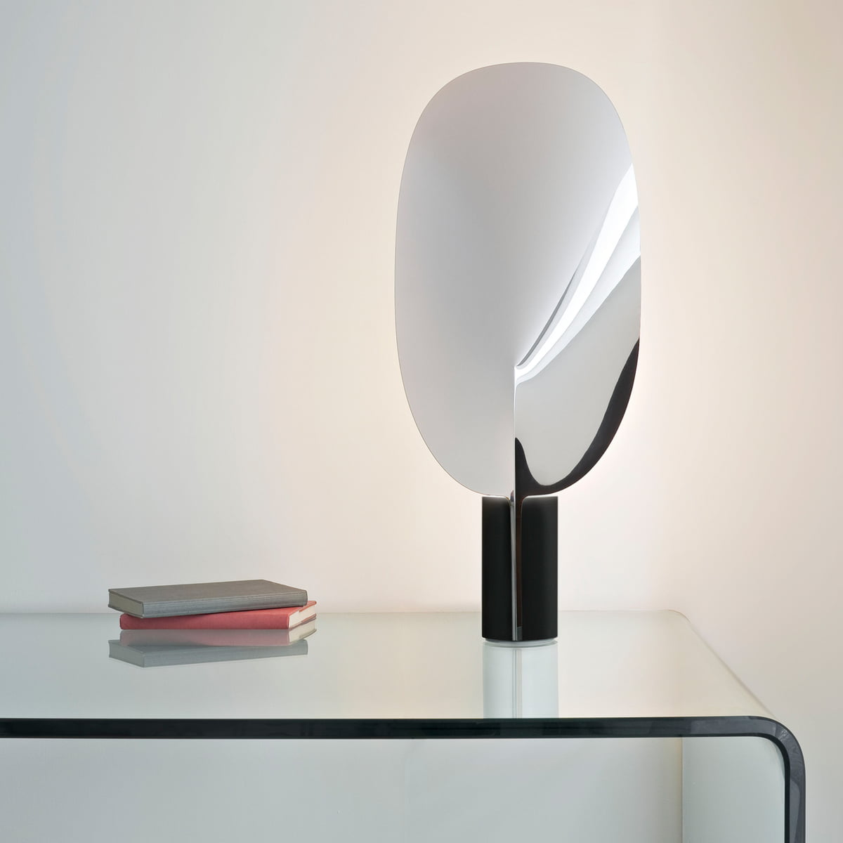 Serena table lamp by flos in the shop the flos serena table lamp in aluminium mozeypictures Image collections