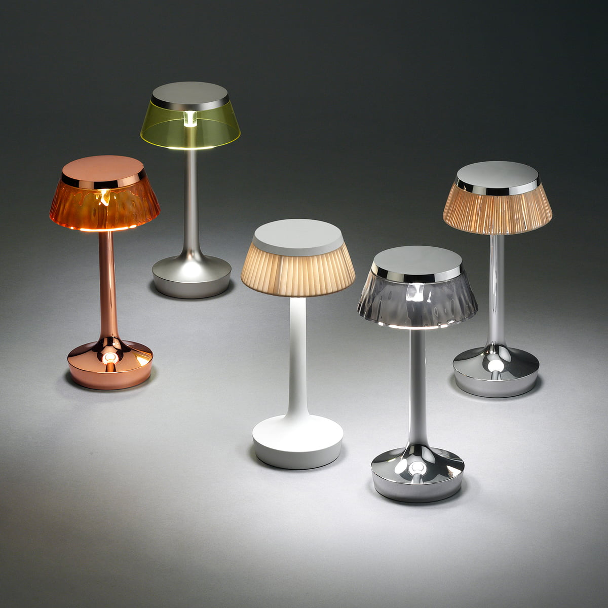 Bon jour Unplugged Table Lamp by Flos