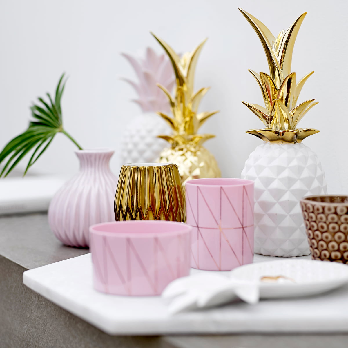 Bloomingville   Decorative Pineapple