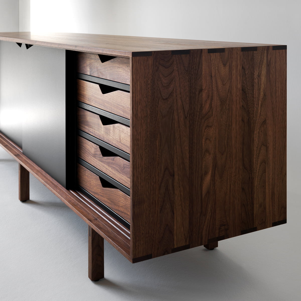 S1 sideboard unicoloured by andersen furniture for Sideboard offen