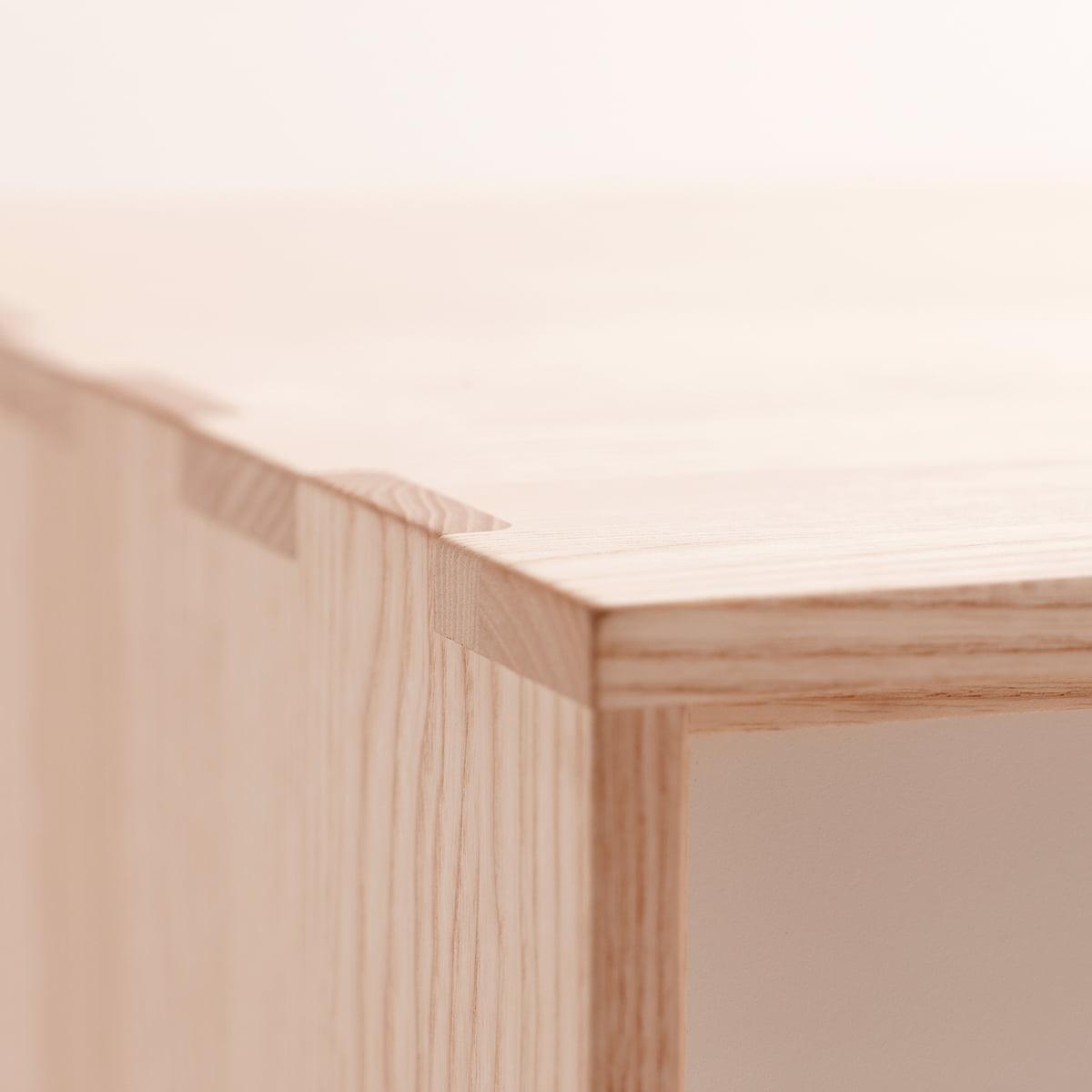 s6 sideboard unicoloured by andersen furniture. Black Bedroom Furniture Sets. Home Design Ideas