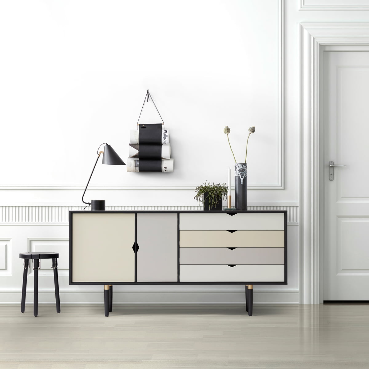 S6 Sideboard Multicoloured By Andersen Furniture